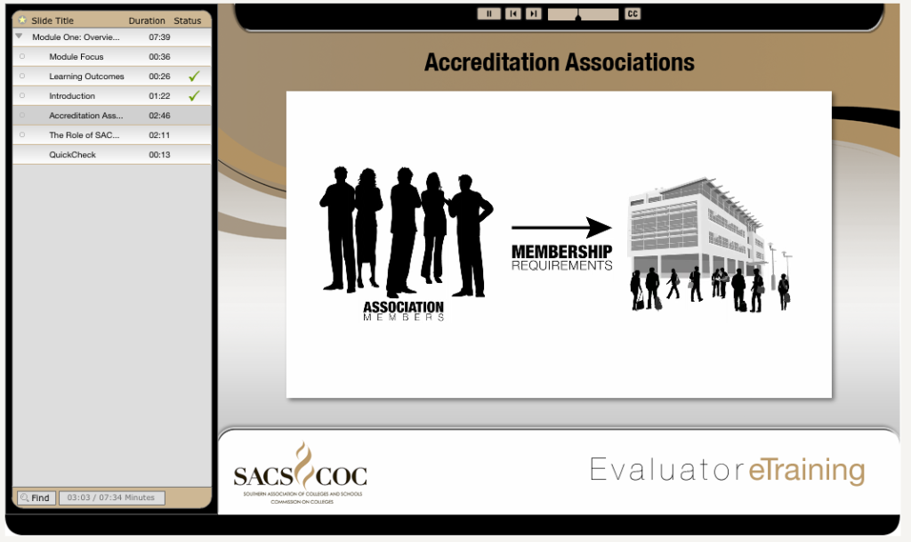SACSCOC Evaluator Training